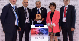 Award Of Best Plant In 2013