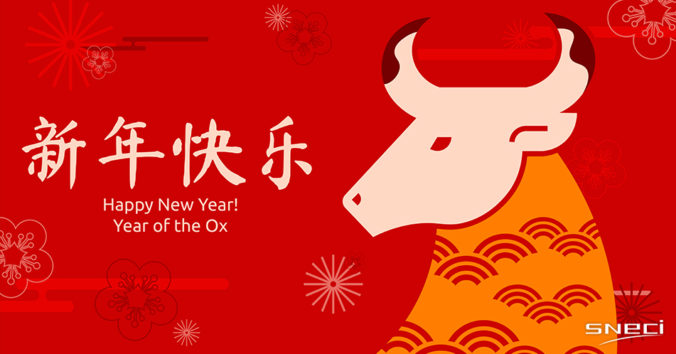 Happy New Year. Year Of The Ox
