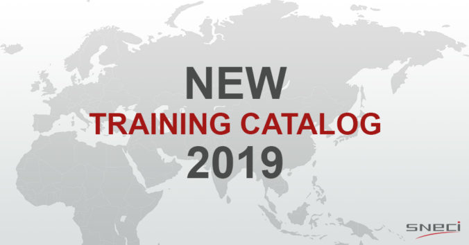 The New SNECI Training Catalog 2019 Is Now Available