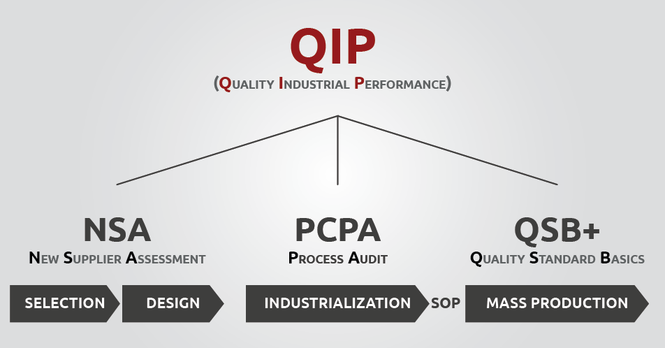 QIP PSA audit includes NSA & QSB+
