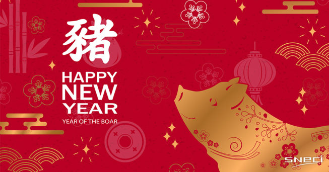 SNECI Wishes You A Happy Chinese New Year Of The Boar!