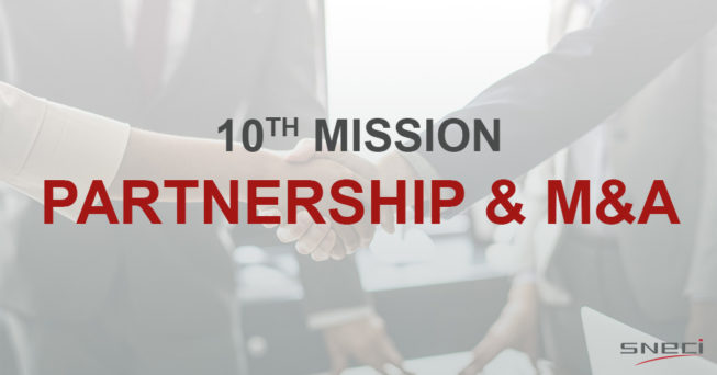 SNECI Completes Its 10th Mission In Partnership & M&A