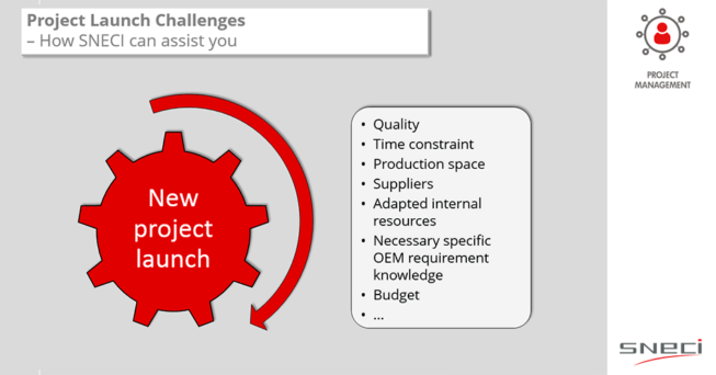 Project Launch Challenges – How SNECI Can Assist You