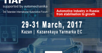 TIAF 2017 - SNECI Is Partner Of The 3rd Automotive Forum In Kazan