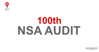 - SNECI Completes Its 100th NSA Audit
