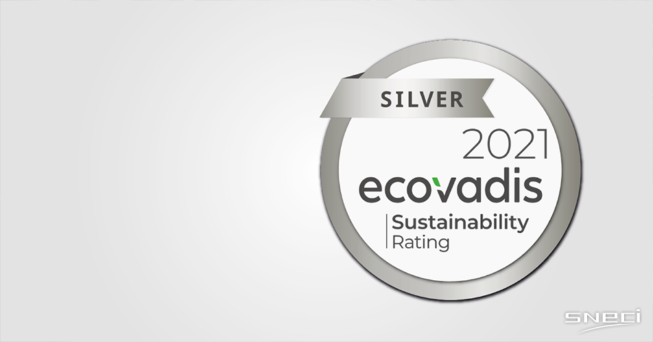 "SNECI Is Rated ""SILVER"" By EcoVadis For Its CSR Performance"