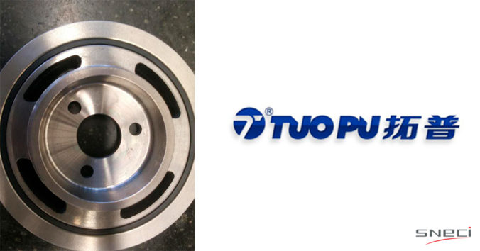 TUOPU Nominated As A Supplier Of Pulleys For A French OEM