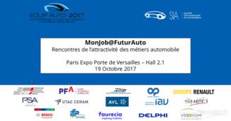 The First Edition Of MonJob@FuturAuto, Organized By SIA On October, 19th, Took Place Simultaneously With The Equip Auto Tradeshow.