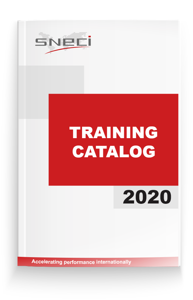 SNECI Training Catalog 2020